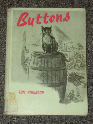 Buttons by Tom Robinson and Peggy Bacon 1963 stray cat story