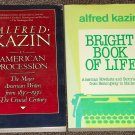 2 by Alfred Kazin Bright Book of Life American Novelists, An American Procession