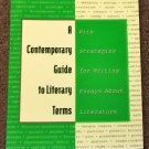 A Contemporary Guide to Literary Terms 1997