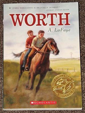 Worth by A. LaFaye Scott O'Dell Award Historical Fiction