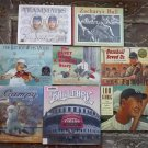 8 Baseball books Zachary's Ball, Teammates, Baseball Saved Us, Lou Gehrig
