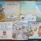 4 Hans de Beer books Little Polar Bear, 5 Helen Lester books Tacky the Penguin