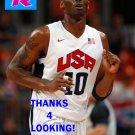 KOBE BRYANT 2012 TEAM USA BASKETBALL OLYMPIC CARD