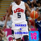 KEVIN DURANT 2012 TEAM USA BASKETBALL OLYMPIC CARD