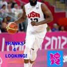 JAMES HARDEN 2012 TEAM USA BASKETBALL OLYMPIC CARD