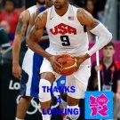 ANDRE IGUODALA 2012 TEAM USA BASKETBALL OLYMPIC CARD