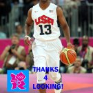 CHRIS PAUL 2012 TEAM USA BASKETBALL OLYMPIC CARD