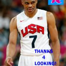 RUSSELL WESTBROOK 2012 TEAM USA BASKETBALL OLYMPIC CARD