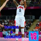 SEIMONE AUGUSTUS 2012 TEAM USA BASKETBALL OLYMPIC CARD