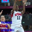 SWIN CASH 2012 TEAM USA BASKETBALL OLYMPIC CARD
