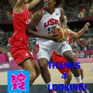 SYLVIA FOWLES 2012 TEAM USA BASKETBALL OLYMPIC CARD