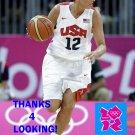 DIANA TAURASI 2012 TEAM USA BASKETBALL OLYMPIC CARD