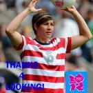 AMY LE PEILBET 2012 TEAM USA OLYMPIC SOCCER CARD