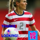 HEATHER MITTS 2012 TEAM USA OLYMPIC SOCCER CARD