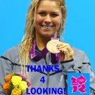 ELIZABETH BEISEL 2012 TEAM USA OLYMPIC CARD *** BRONZE MEDAL WINNER!***