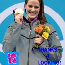 MISSY FRANKLIN 2012 TEAM USA OLYMPIC CARD *** GOLD MEDAL WINNER!***