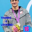 RYAN LOCHTE 2012 TEAM USA OLYMPIC CARD *** GOLD MEDAL WINNER!***
