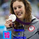 ALLISON SCHMITT 2012 TEAM USA OLYMPIC CARD *** SILVER MEDAL WINNER!***