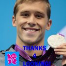 NICK THOMAN 2012 TEAM USA OLYMPIC CARD *** SILVER MEDAL WINNER!***