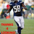 DEMORRIO WILLIAMS 2012 SAN DIEGO CHARGERS FOOTBALL CARD