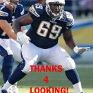 TYRONNE GREEN 2012 SAN DIEGO CHARGERS FOOTBALL CARD