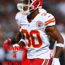 JALIL BROWN 2012 KANSAS CITY CHIEFS FOOTBALL CARD