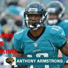 ANTHONY ARMSTRONG 2012 JACKSONVILLE JAGUARS FOOTBALL CARD