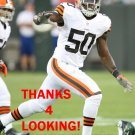 JAMES-MICHAEL JOHNSON 2012 CLEVELAND BROWNS FOOTBALL CARD