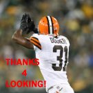 JAMES DOCKERY 2012 CLEVELAND BROWNS FOOTBALL CARD
