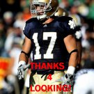 ZEKE MOTTA 2012 NOTRE DAME FIGHTING IRISH CARD