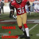 DONTE WHITNER 2012 SAN FRANCISCO 49ERS FOOTBALL CARD