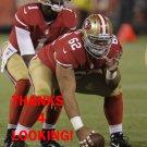 JASON SLOWEY 2012 SAN FRANCISCO 49ERS FOOTBALL CARD