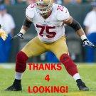 ALEX BOONE 2012 SAN FRANCISCO 49ERS FOOTBALL CARD