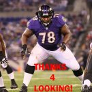 BRYANT McKINNIE 2012 BALTIMORE RAVENS FOOTBALL CARD