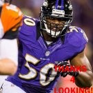 ALBERT McCLELLAN 2012 BALTIMORE RAVENS FOOTBALL CARD
