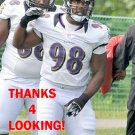 RYAN McBEAN 2012 BALTIMORE RAVENS FOOTBALL CARD