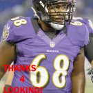 NICOLAS JEAN-BAPTISTE 2012 BALTIMORE RAVENS FOOTBALL CARD