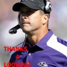 JOHN HARBAUGH 2012 BALTIMORE RAVENS FOOTBALL CARD
