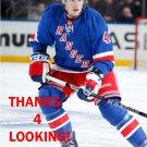 J.T. MILLER 2012-13 NEW YORK RANGERS HOCKEY CARD