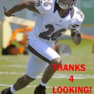 EMANUEL COOK 2012 BALTIMORE RAVENS FOOTBALL CARD