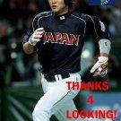 HAYATO SAKAMOTO 2013 TEAM JAPAN WORLD BASEBALL CLASSIC CARD