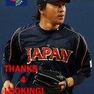 HISAYOSHI CHONO 2013 TEAM JAPAN WORLD BASEBALL CLASSIC CARD