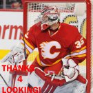 JOEY MacDONALD 2012-13 CALGARY FLAMES HOCKEY CARD