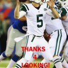 MATT SIMMS 2013 NEW YORK JETS FOOTBALL CARD