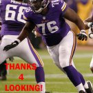 TRAVIS BOND 2013 MINNESOTA VIKINGS FOOTBALL CARD