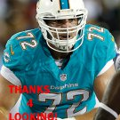WILL YEATMAN 2013 MIAMI DOLPHINS FOOTBALL CARD