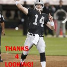MATT McGLOIN 2013 OAKLAND RAIDERS FOOTBALL CARD