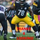 GUY WHIMPER 2013 PITTSBURGH STEELERS FOOTBALL CARD