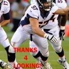 RYAN LILJA 2013 DENVER BRONCOS FOOTBALL CARD