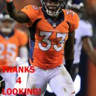 DUKE IHENACHO 2013 DENVER BRONCOS FOOTBALL CARD